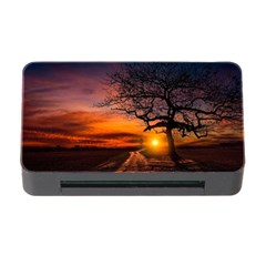 Lonely Tree Sunset Wallpaper Memory Card Reader with CF