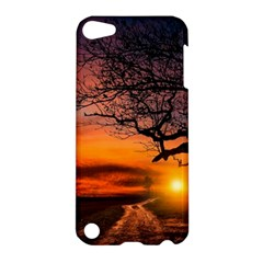 Lonely Tree Sunset Wallpaper Apple iPod Touch 5 Hardshell Case