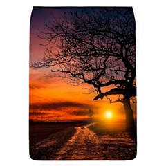 Lonely Tree Sunset Wallpaper Removable Flap Cover (S)