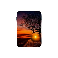 Lonely Tree Sunset Wallpaper Apple iPad Mini Protective Soft Cases