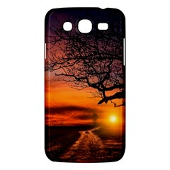 Lonely Tree Sunset Wallpaper Samsung Galaxy Mega 5 8 I9152 Hardshell Case  by Alisyart
