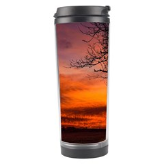 Lonely Tree Sunset Wallpaper Travel Tumbler