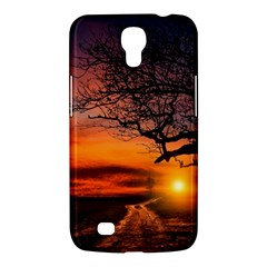 Lonely Tree Sunset Wallpaper Samsung Galaxy Mega 6 3  I9200 Hardshell Case by Alisyart