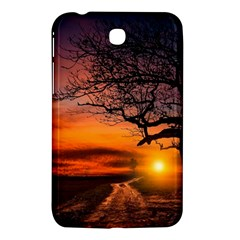 Lonely Tree Sunset Wallpaper Samsung Galaxy Tab 3 (7 ) P3200 Hardshell Case