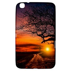 Lonely Tree Sunset Wallpaper Samsung Galaxy Tab 3 (8 ) T3100 Hardshell Case