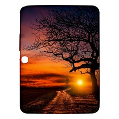 Lonely Tree Sunset Wallpaper Samsung Galaxy Tab 3 (10 1 ) P5200 Hardshell Case