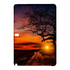 Lonely Tree Sunset Wallpaper Samsung Galaxy Tab Pro 10 1 Hardshell Case