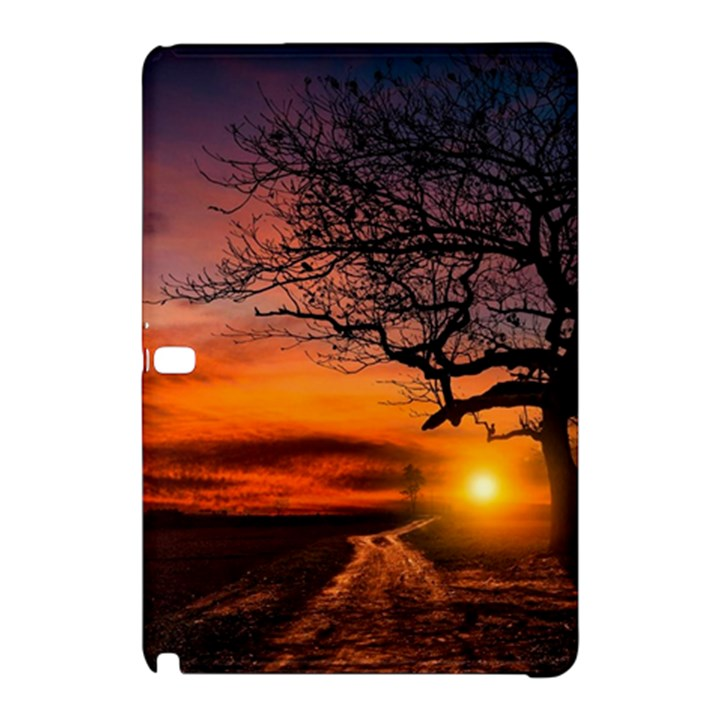 Lonely Tree Sunset Wallpaper Samsung Galaxy Tab Pro 10.1 Hardshell Case