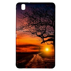 Lonely Tree Sunset Wallpaper Samsung Galaxy Tab Pro 8.4 Hardshell Case