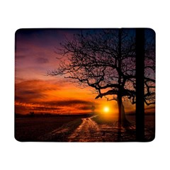 Lonely Tree Sunset Wallpaper Samsung Galaxy Tab Pro 8.4  Flip Case