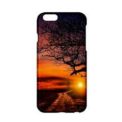 Lonely Tree Sunset Wallpaper Apple iPhone 6/6S Hardshell Case