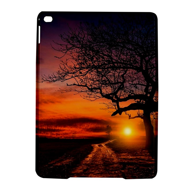 Lonely Tree Sunset Wallpaper iPad Air 2 Hardshell Cases
