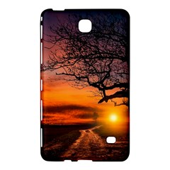 Lonely Tree Sunset Wallpaper Samsung Galaxy Tab 4 (8 ) Hardshell Case