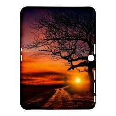 Lonely Tree Sunset Wallpaper Samsung Galaxy Tab 4 (10.1 ) Hardshell Case