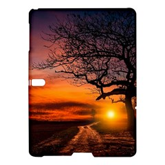 Lonely Tree Sunset Wallpaper Samsung Galaxy Tab S (10.5 ) Hardshell Case