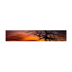 Lonely Tree Sunset Wallpaper Flano Scarf (Mini)
