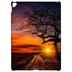 Lonely Tree Sunset Wallpaper Apple Ipad Pro 12 9   Hardshell Case