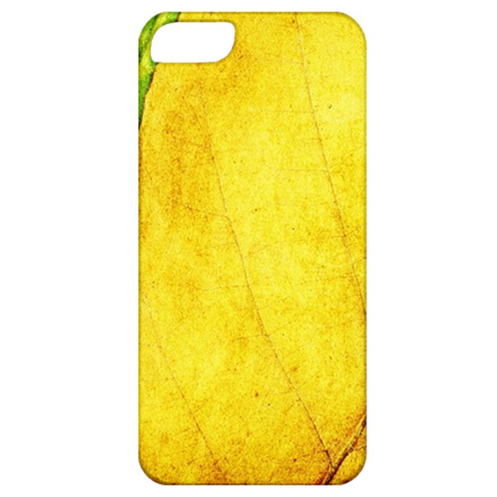 Green Yellow Leaf Texture Leaves Apple iPhone 5 Classic Hardshell Case