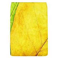 Green Yellow Leaf Texture Leaves Removable Flap Cover (s) by Alisyart