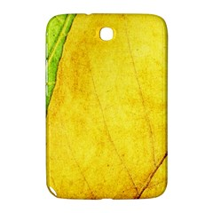 Green Yellow Leaf Texture Leaves Samsung Galaxy Note 8 0 N5100 Hardshell Case