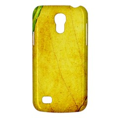 Green Yellow Leaf Texture Leaves Samsung Galaxy S4 Mini (gt I9190) Hardshell Case