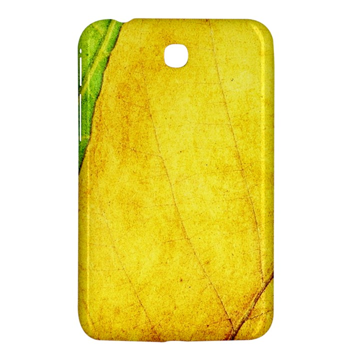 Green Yellow Leaf Texture Leaves Samsung Galaxy Tab 3 (7 ) P3200 Hardshell Case