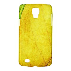 Green Yellow Leaf Texture Leaves Samsung Galaxy S4 Active (i9295) Hardshell Case