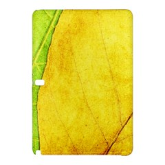 Green Yellow Leaf Texture Leaves Samsung Galaxy Tab Pro 12 2 Hardshell Case