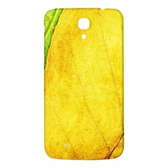 Green Yellow Leaf Texture Leaves Samsung Galaxy Mega I9200 Hardshell Back Case