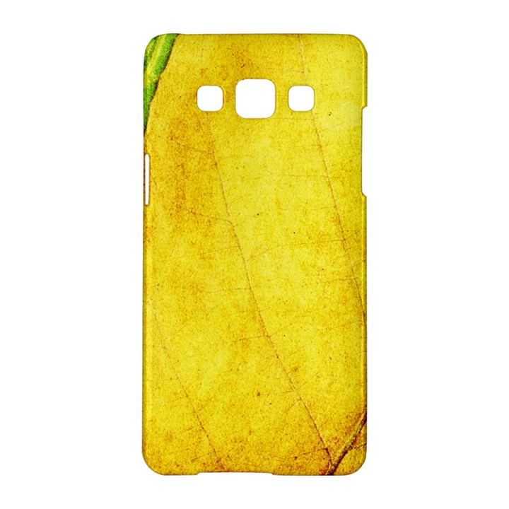Green Yellow Leaf Texture Leaves Samsung Galaxy A5 Hardshell Case