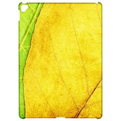 Green Yellow Leaf Texture Leaves Apple Ipad Pro 12 9   Hardshell Case