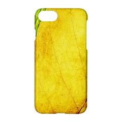 Green Yellow Leaf Texture Leaves Apple Iphone 7 Hardshell Case