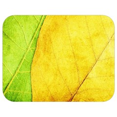 Green Yellow Leaf Texture Leaves Full Print Lunch Bag
