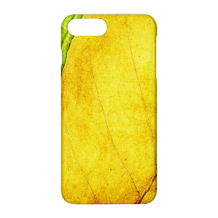 Green Yellow Leaf Texture Leaves Apple iPhone 8 Plus Hardshell Case