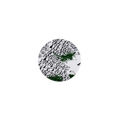 Montains Hills Green Forests 1  Mini Magnets