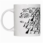 Montains Hills Green Forests White Mugs Left