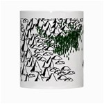 Montains Hills Green Forests White Mugs Center