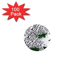 Montains Hills Green Forests 1  Mini Magnets (100 Pack)