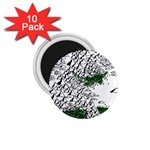Montains Hills Green Forests 1.75  Magnets (10 pack)  Front