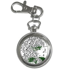 Montains Hills Green Forests Key Chain Watches