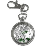 Montains Hills Green Forests Key Chain Watches Front
