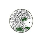 Montains Hills Green Forests Hat Clip Ball Marker Front