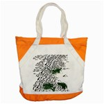 Montains Hills Green Forests Accent Tote Bag Front