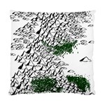Montains Hills Green Forests Standard Cushion Case (One Side) Front