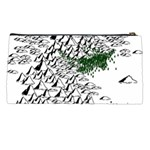 Montains Hills Green Forests Pencil Cases Back