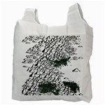 Montains Hills Green Forests Recycle Bag (Two Side) Back