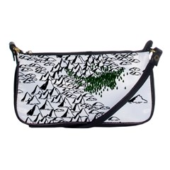 Montains Hills Green Forests Shoulder Clutch Bag