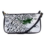 Montains Hills Green Forests Shoulder Clutch Bag Front