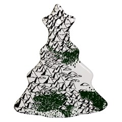 Montains Hills Green Forests Ornament (christmas Tree)