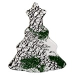 Montains Hills Green Forests Ornament (Christmas Tree)  Front